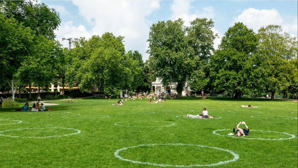 Gedragsbeïnvloeding in het park